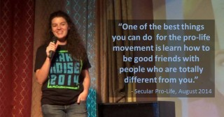 Be a friend Secular Pro-Life