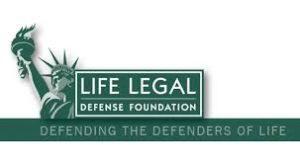 Life Legal Defense Foundation defending the Defenders of Life logo